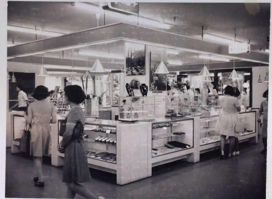昭和43年開店 旧スカイビル2階 ヤマト宝飾店舗