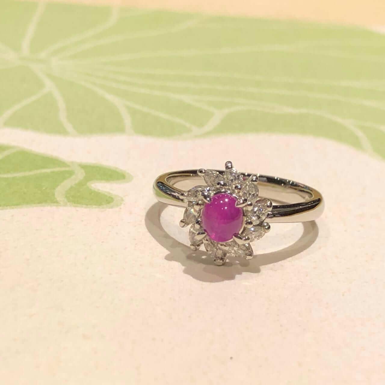 スタールビーの指輪