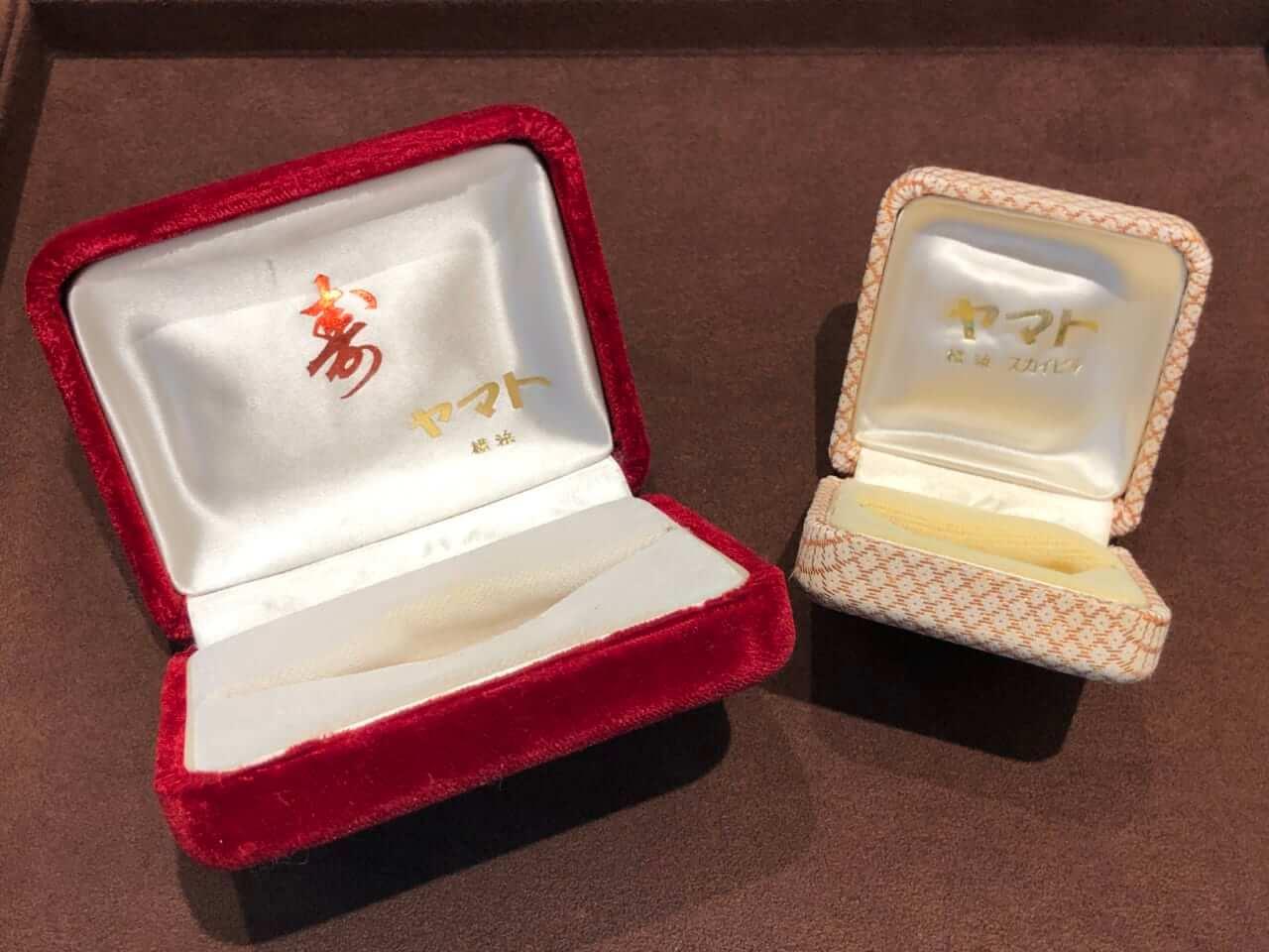 昭和時代のヤマト宝飾 ケース