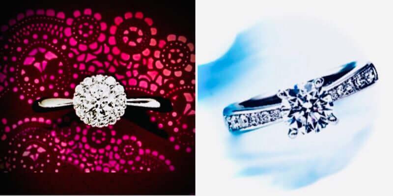 リフォーム後のダイヤモンド婚約指輪デザイン